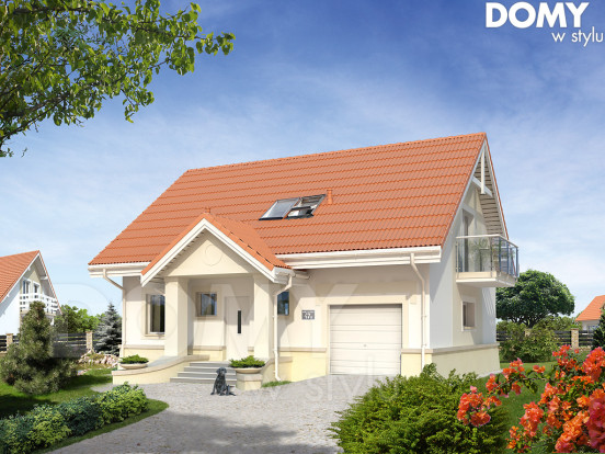 projekt-domu-garaż